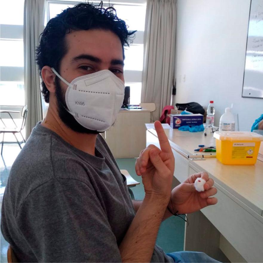 ¿Tuviste COVID-19? Hicimos los primeros tests de antígeno a una de nuestras empresas.