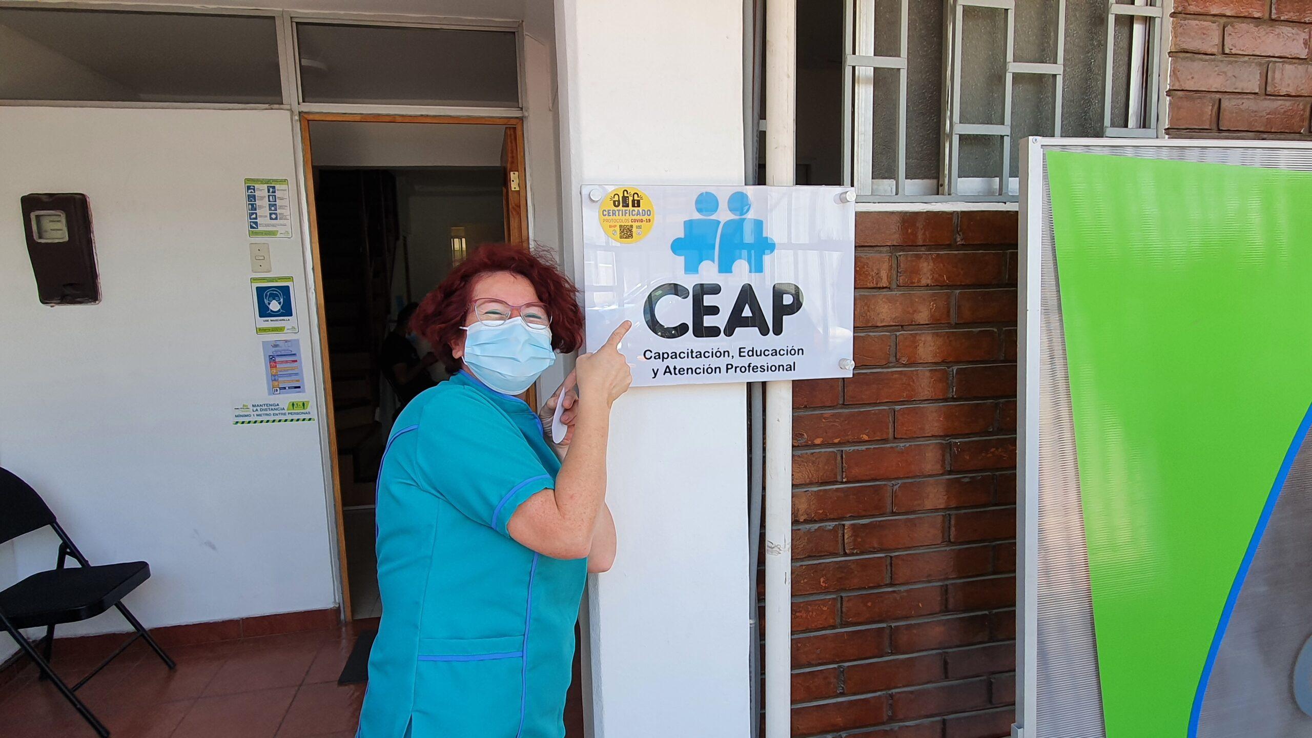 CEAP Capacitación, educación y atención profesional vuelven a la acción.